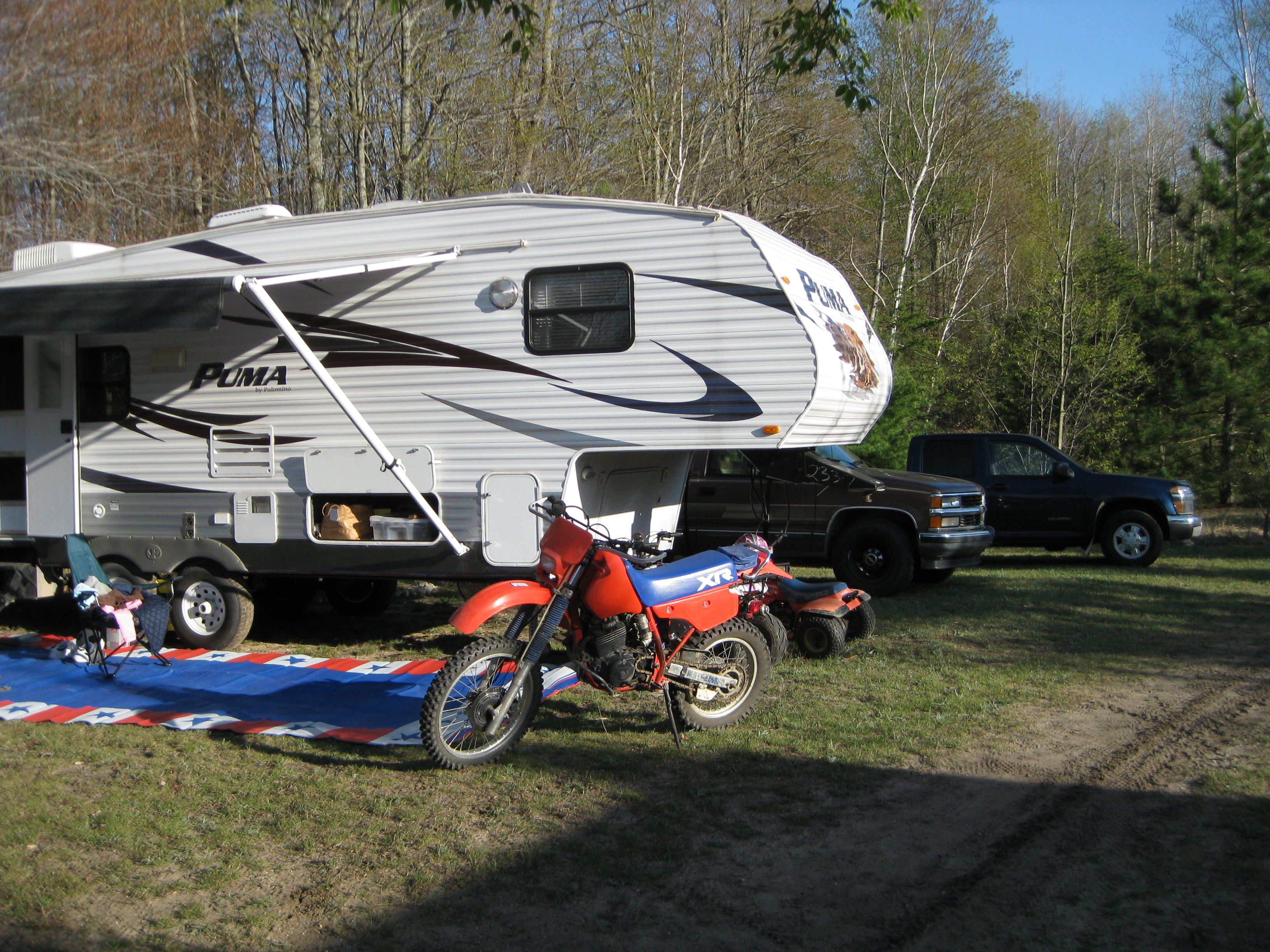 Dry Camping in Wolverine, MI 2012