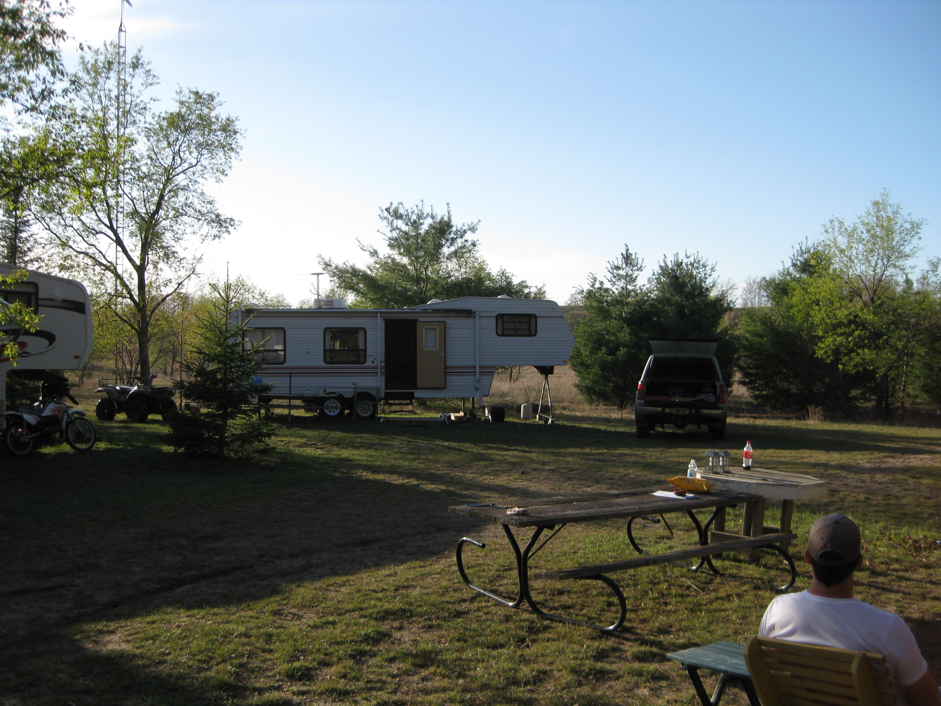 Camping in Wolverine, MI 2012