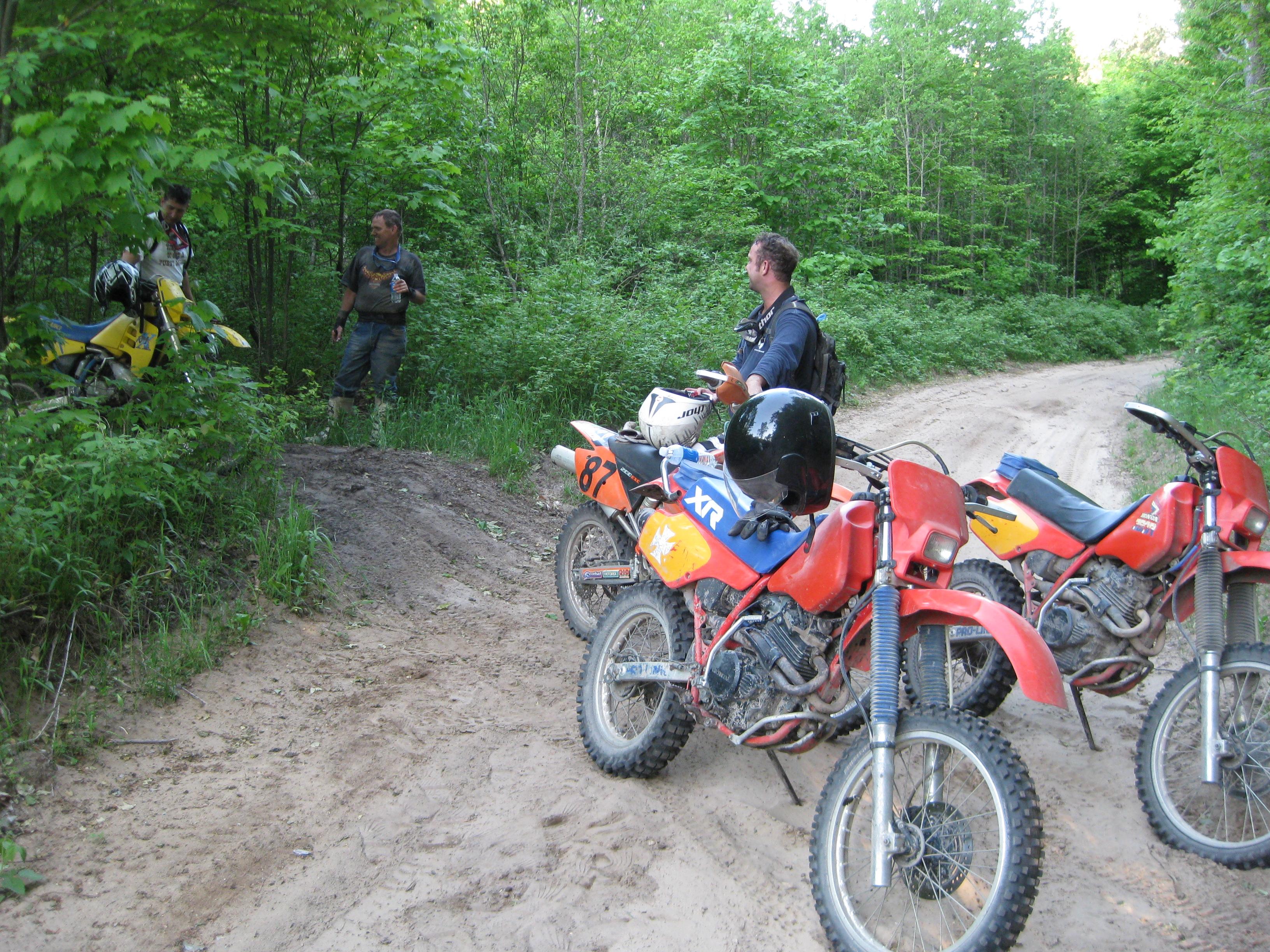 Riding Bikes in Wolverine, MI 2010