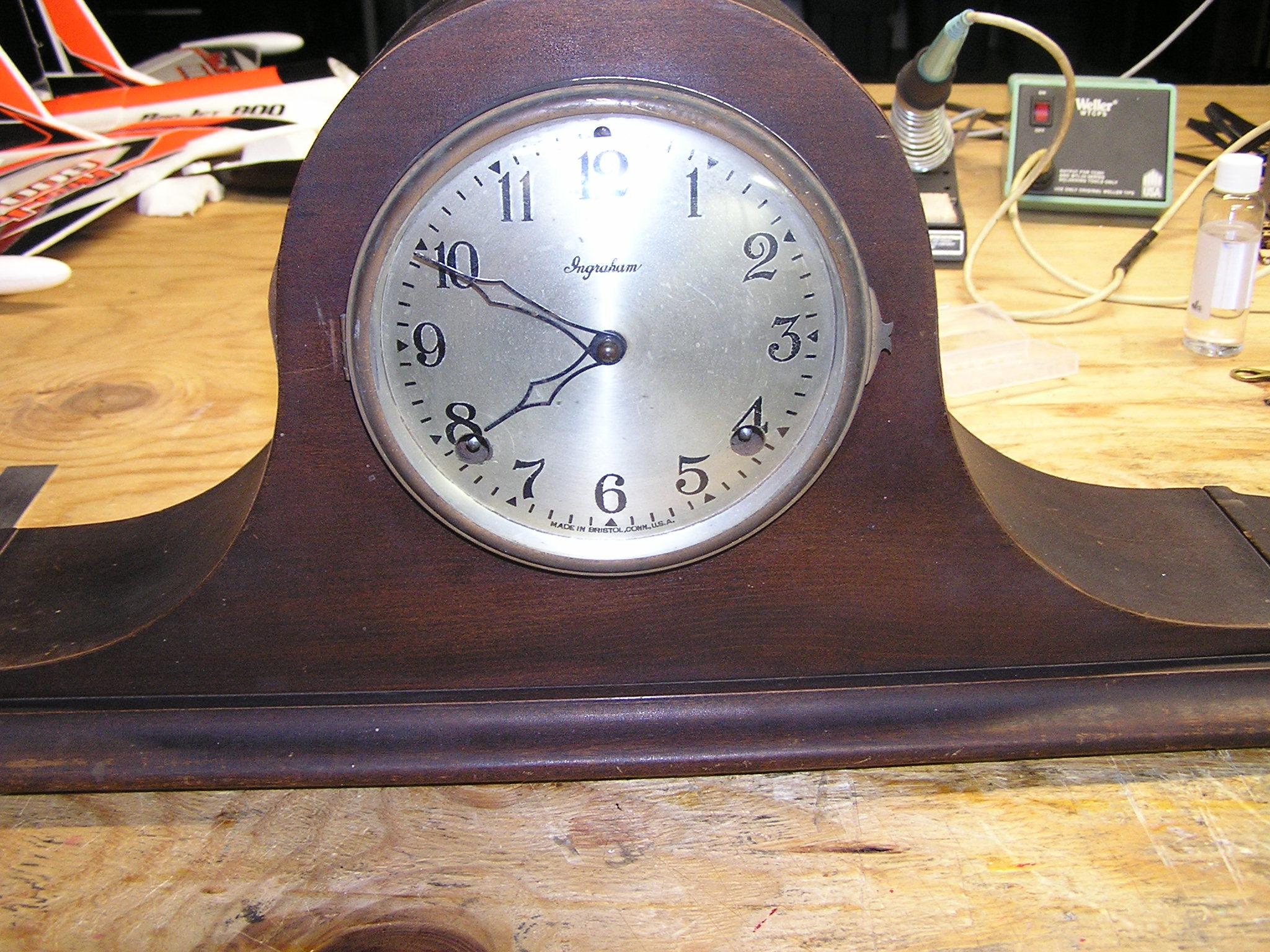 1927 Ingraham Mantle Clock