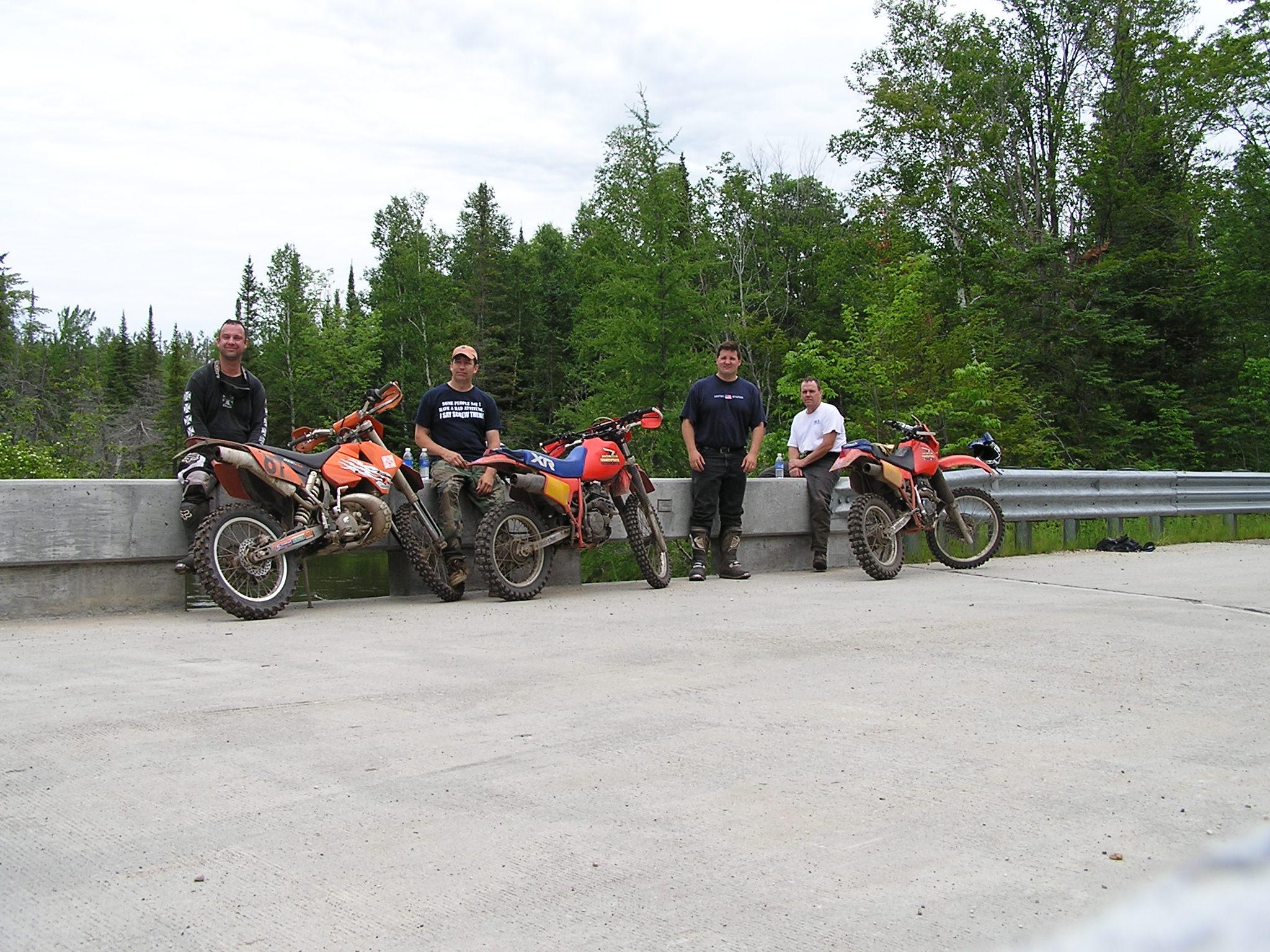 Riding up north again. Wolverine, MI 2009