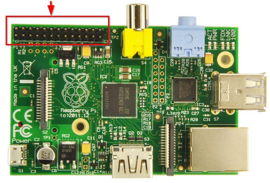 raspberry GPIO header