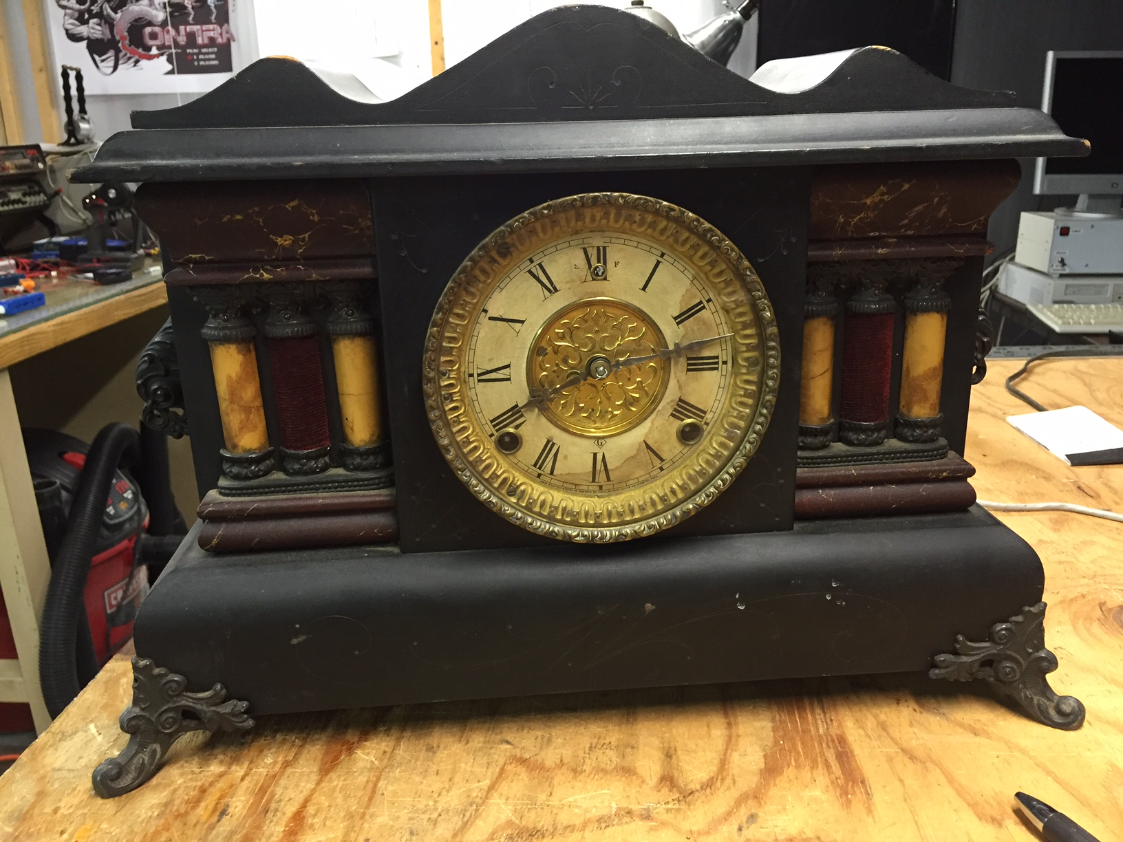 William Gilbert Mantle Clock